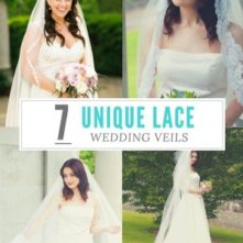 7 Unique Lace Wedding Veils